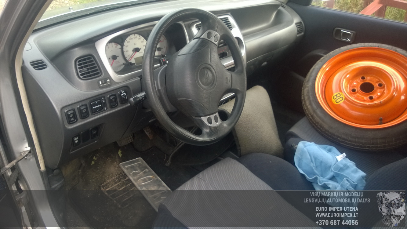Naudotos automobiliu dallys Foto 5 Daihatsu SIRION 2000 1.3 Automatinė Hečbekas 4/5 d. Pilka 2015-9-29 A2389