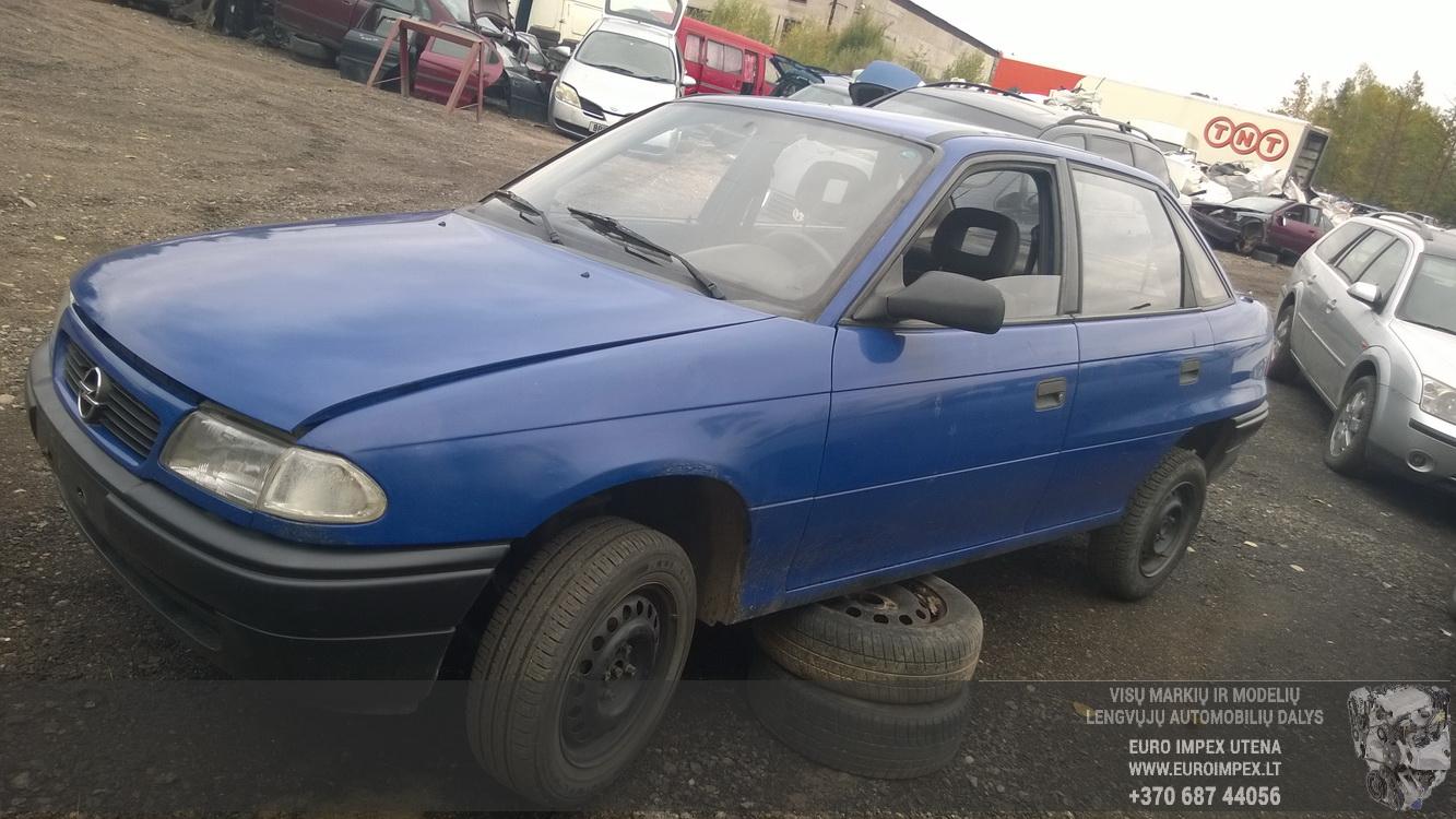 A2397 Opel ASTRA 1994 1.7 Mechaninė Dyzelis
