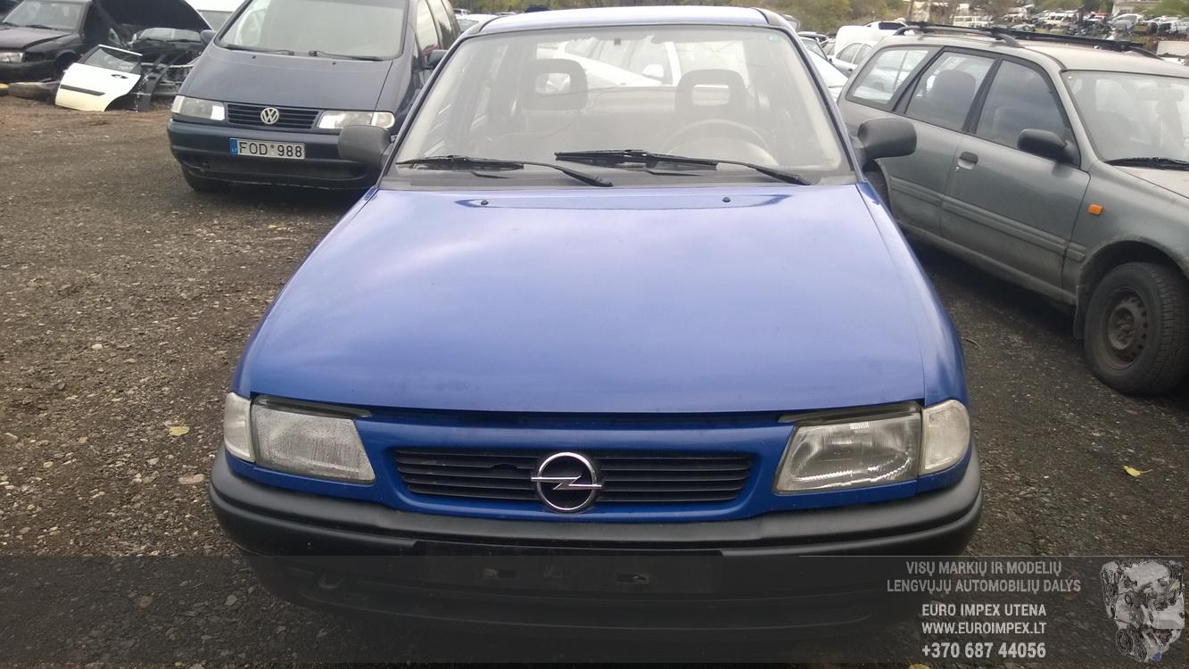 Naudotos automobiliu dallys Foto 2 Opel ASTRA 1994 1.7 Mechaninė Sedanas 4/5 d. Melyna 2015-10-02 A2397