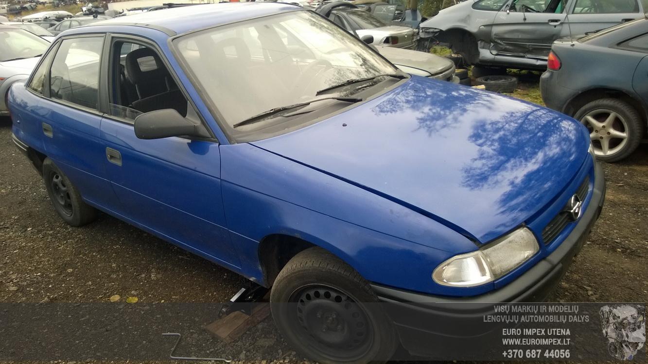 Naudotos automobiliu dallys Foto 3 Opel ASTRA 1994 1.7 Mechaninė Sedanas 4/5 d. Melyna 2015-10-02 A2397
