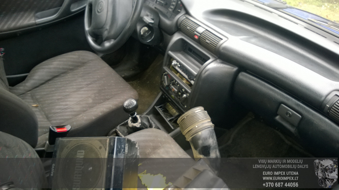 Naudotos automobiliu dallys Foto 5 Opel ASTRA 1994 1.7 Mechaninė Sedanas 4/5 d. Melyna 2015-10-02 A2397