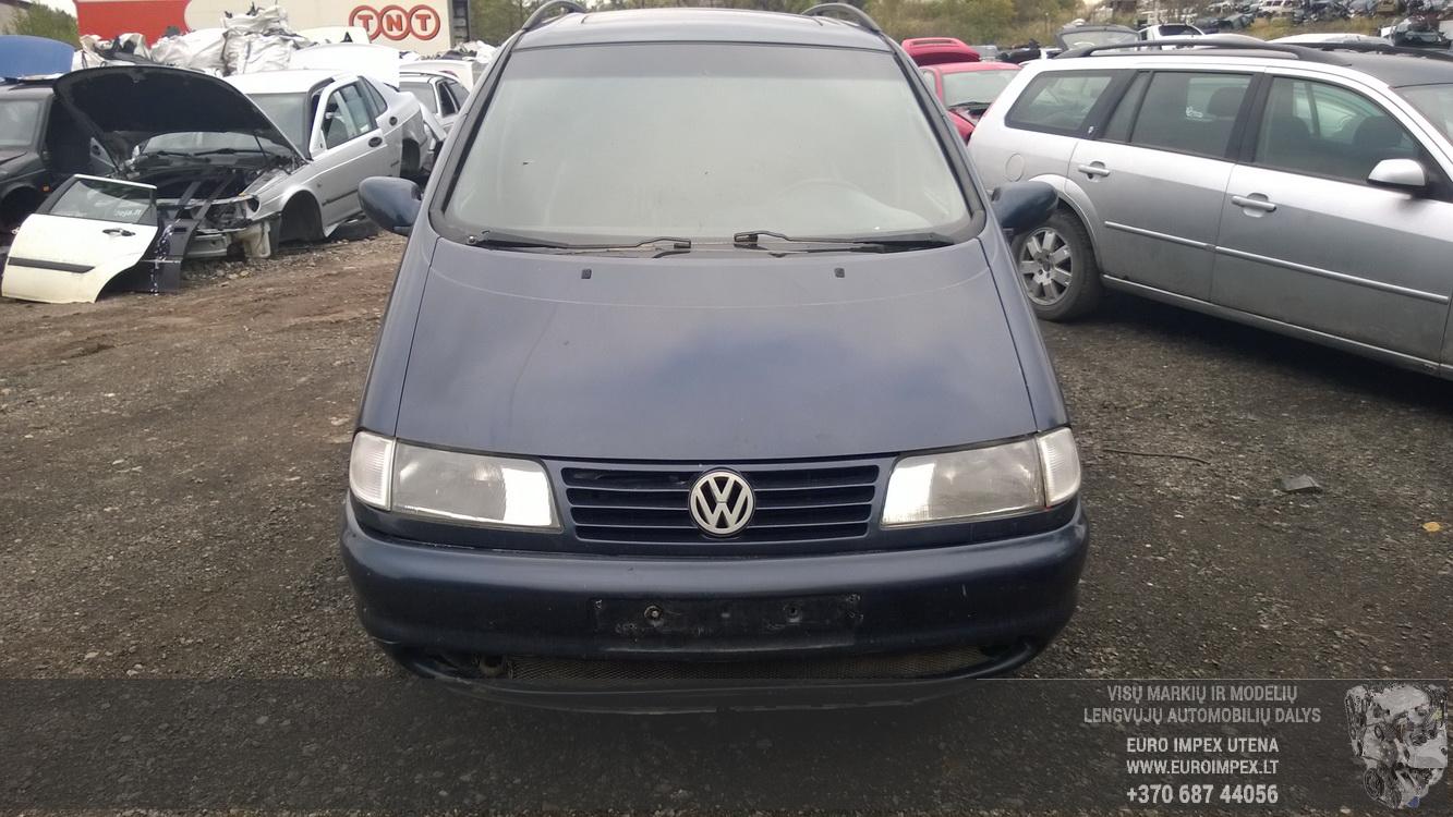 Naudotos automobiliu dallys Foto 2 Volkswagen SHARAN 1998 2.8 Mechaninė Vienatūris 4/5 d. Violetine 2015-10-02 A2396
