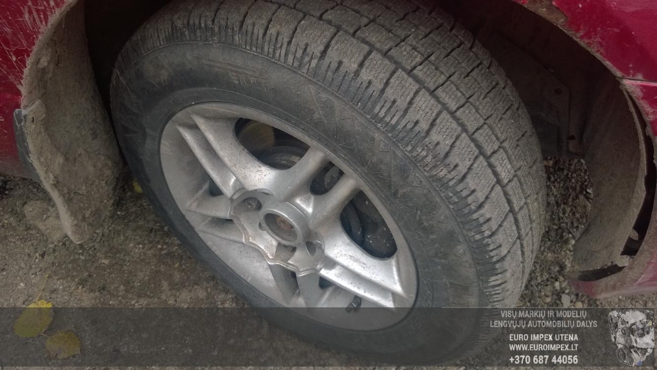 Naudotos automobiliu dallys Foto 4 Nissan PRIMERA 1998 2.0 Mechaninė Sedanas 4/5 d. Raudona 2015-10-02 A2399