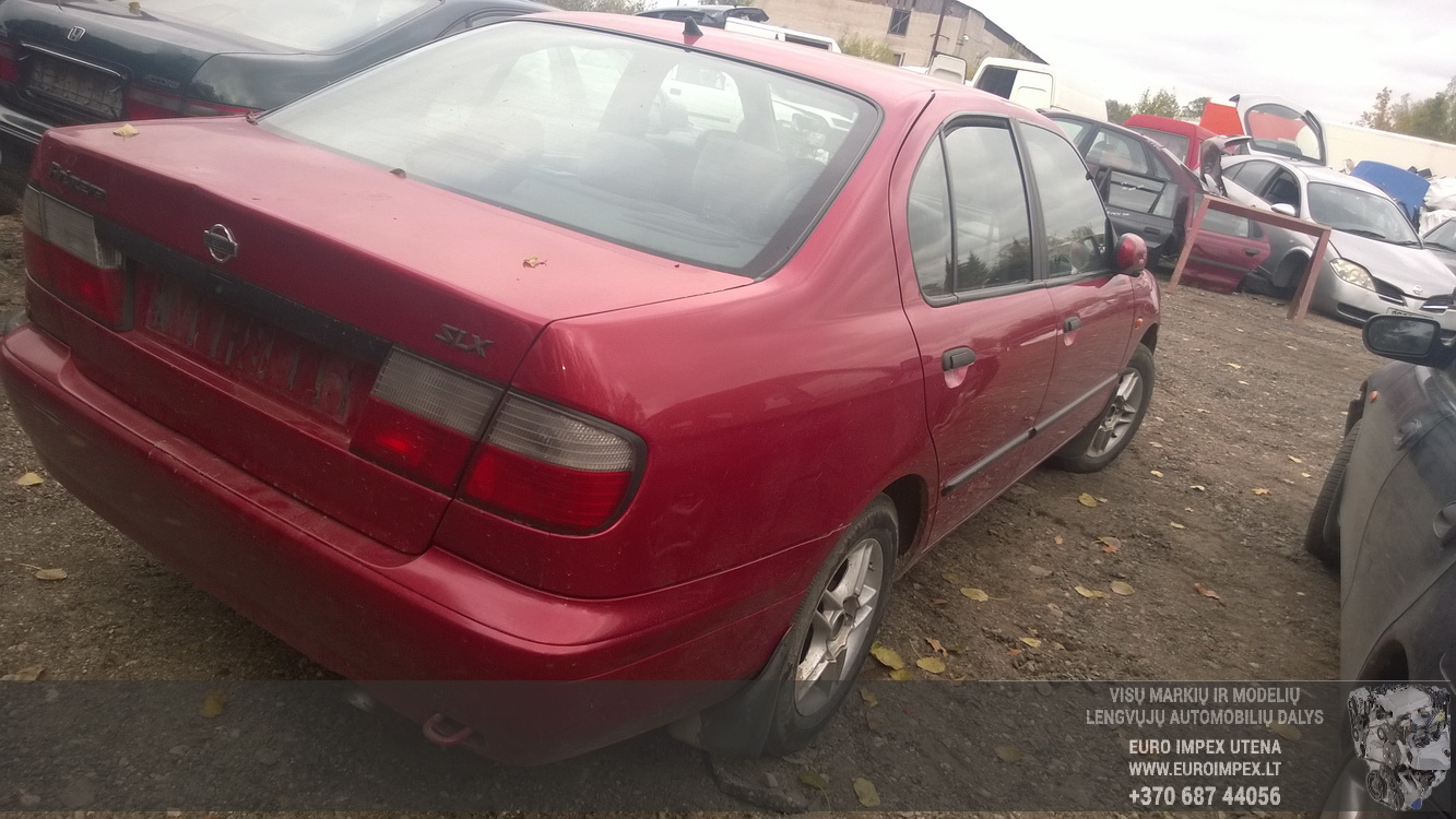 Naudotos automobiliu dallys Foto 6 Nissan PRIMERA 1998 2.0 Mechaninė Sedanas 4/5 d. Raudona 2015-10-02 A2399