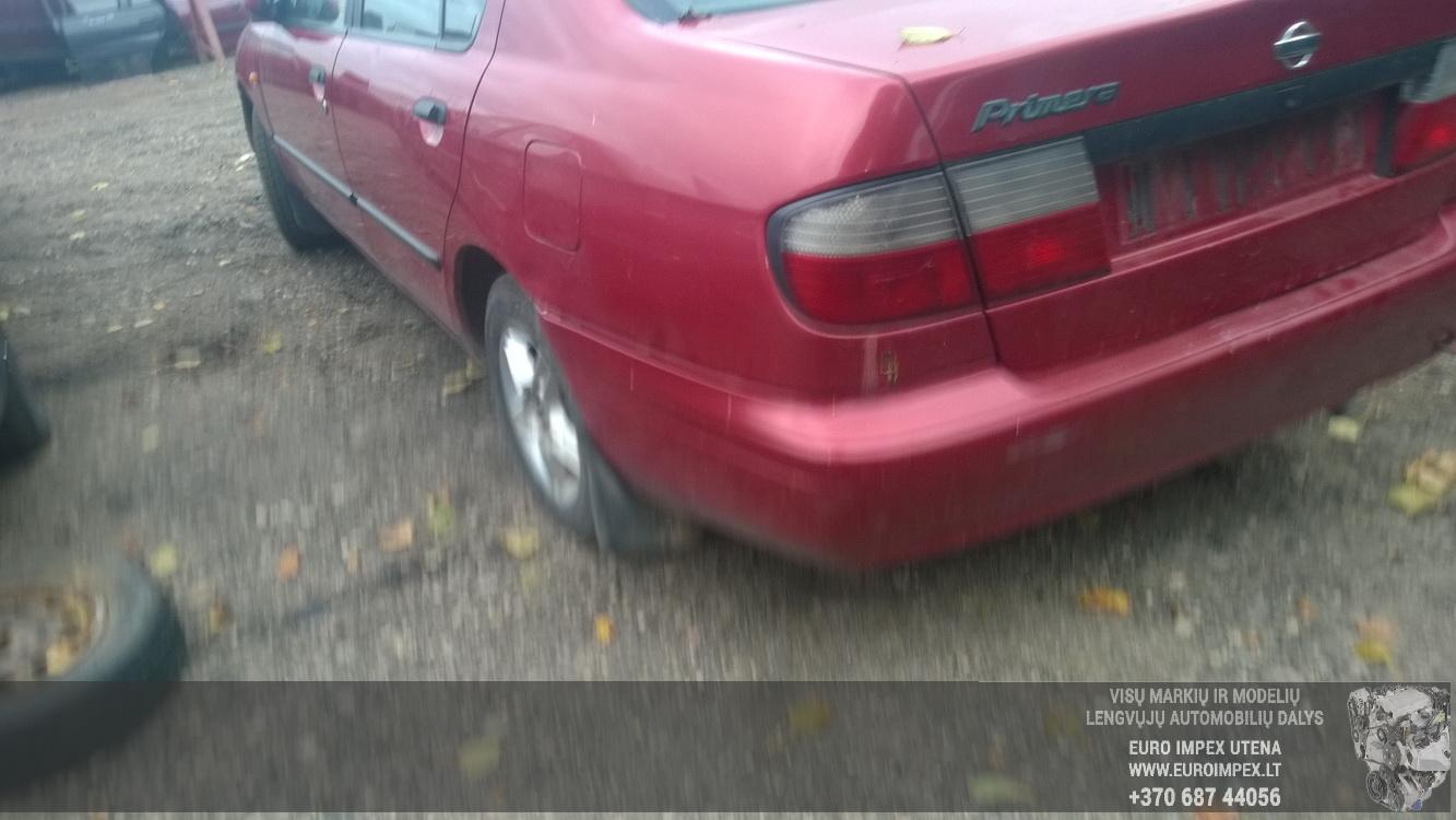 Naudotos automobiliu dallys Foto 7 Nissan PRIMERA 1998 2.0 Mechaninė Sedanas 4/5 d. Raudona 2015-10-02 A2399