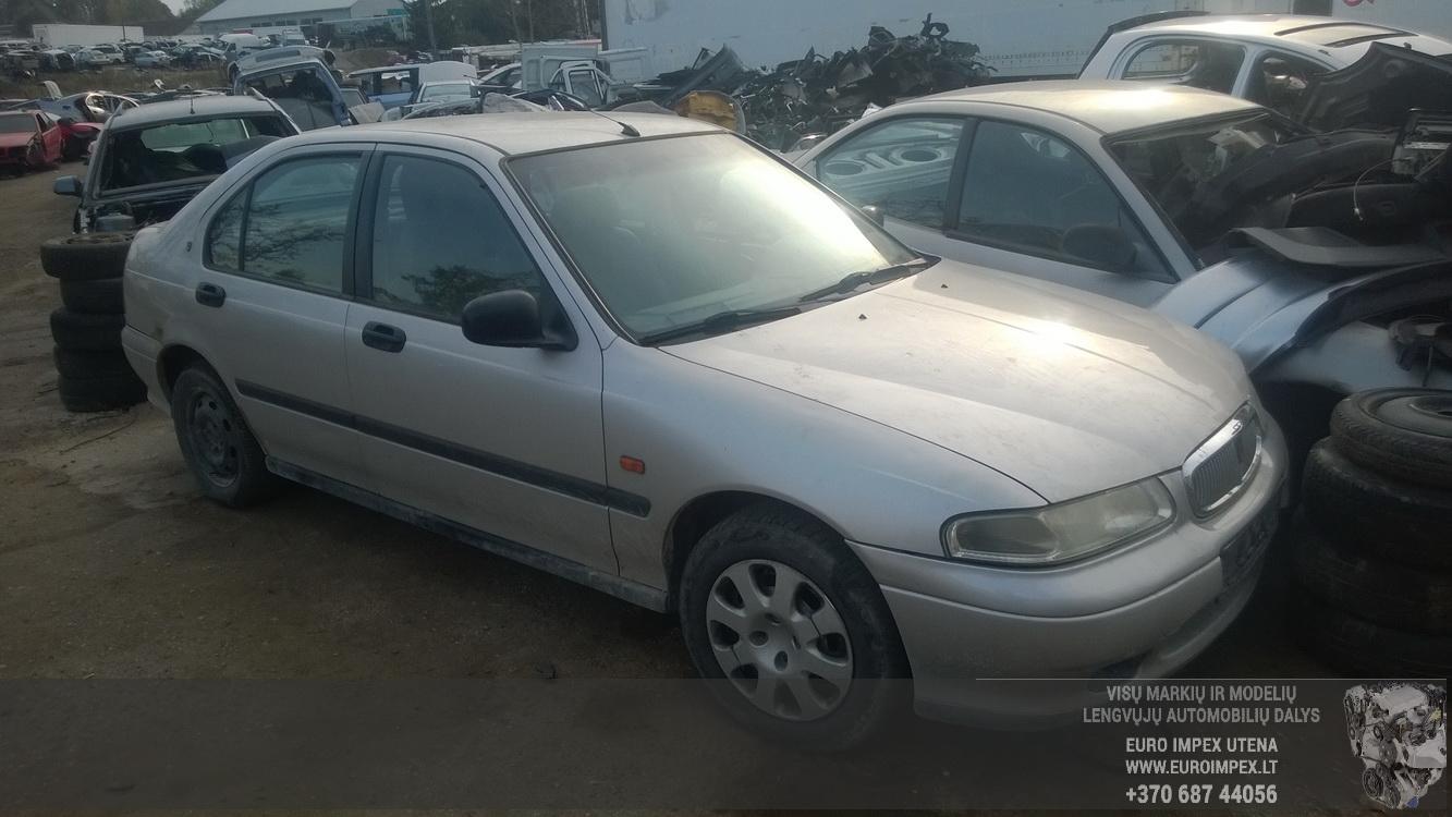 Naudotos automobilio dalys Rover 400-SERIES 1998 1.6 Mechaninė Hečbekas 4/5 d. Pilka 2015-10-19