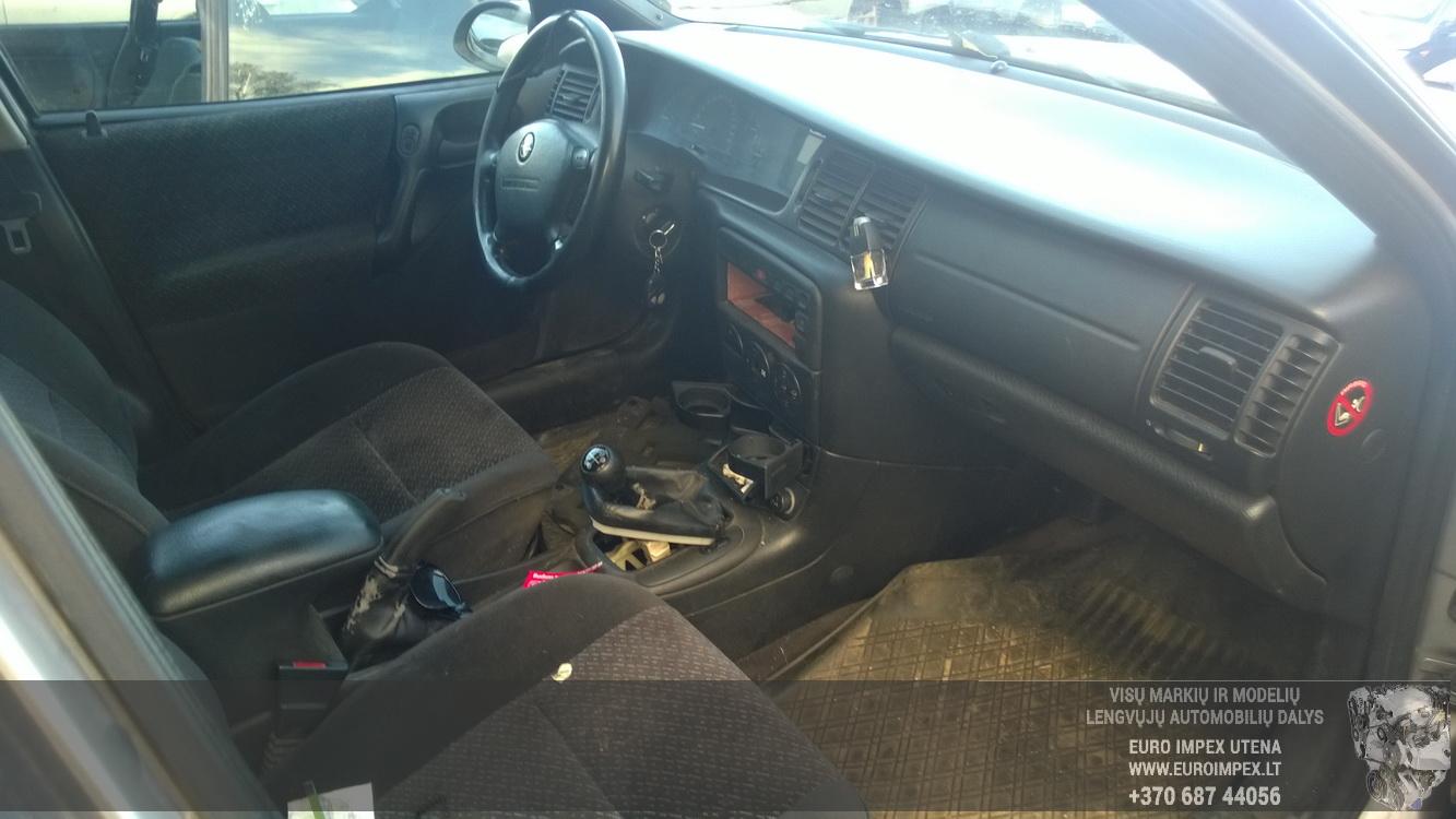 Naudotos automobiliu dallys Foto 4 Opel VECTRA 1999 2.0 Mechaninė Universalas 4/5 d. Pilka 2015-10-27 A2429