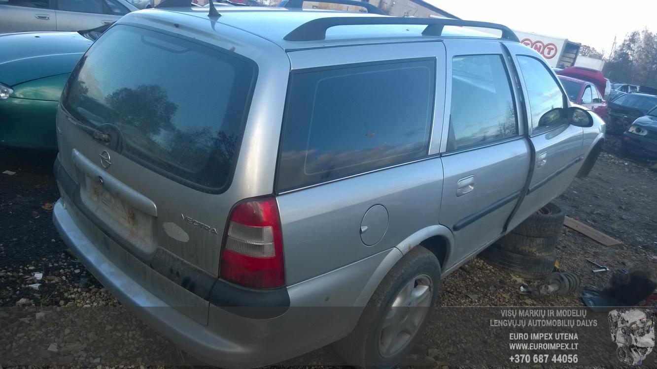 Naudotos automobiliu dallys Foto 5 Opel VECTRA 1999 2.0 Mechaninė Universalas 4/5 d. Pilka 2015-10-27 A2429