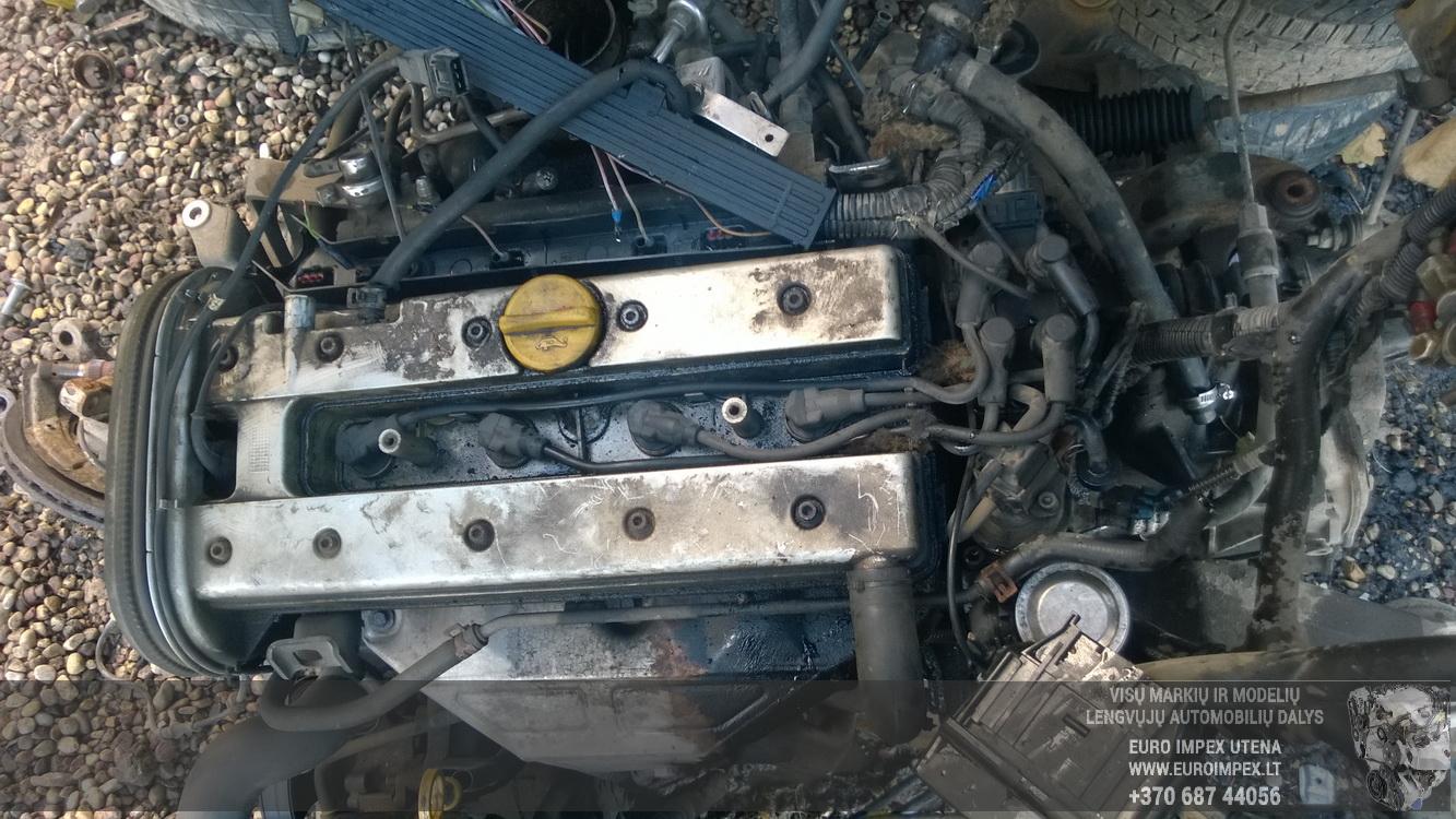Naudotos automobiliu dallys Foto 8 Opel VECTRA 1999 2.0 Mechaninė Universalas 4/5 d. Pilka 2015-10-27 A2429