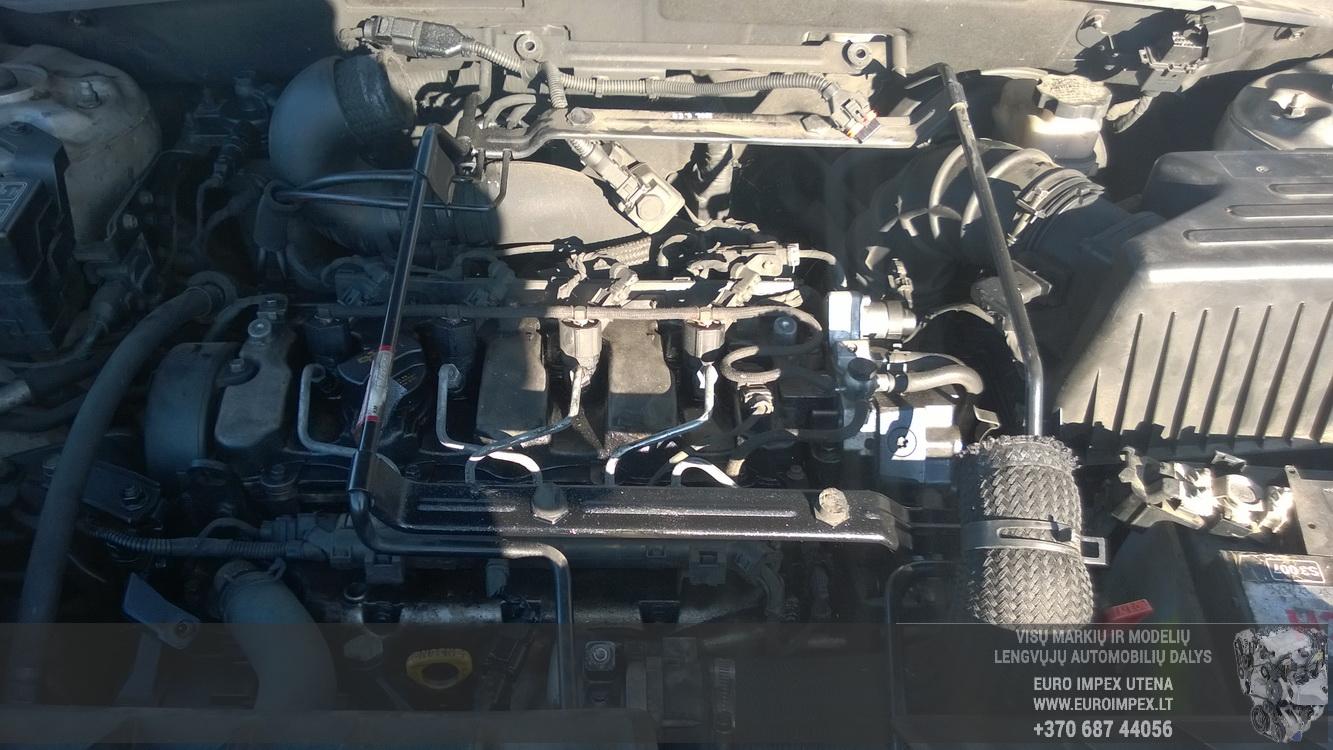 Naudotos automobilio dalys Hyundai SANTA FE 2007 2.2 Automatinė Visureigis 4/5 d. Pilka 2015-11-02