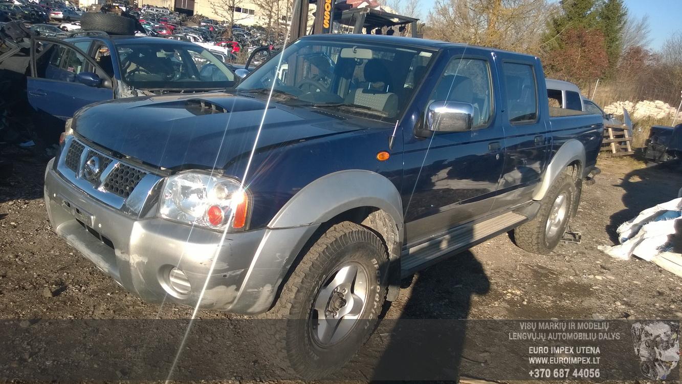 Nissan NAVARA 2004 2.5 Mechaninė