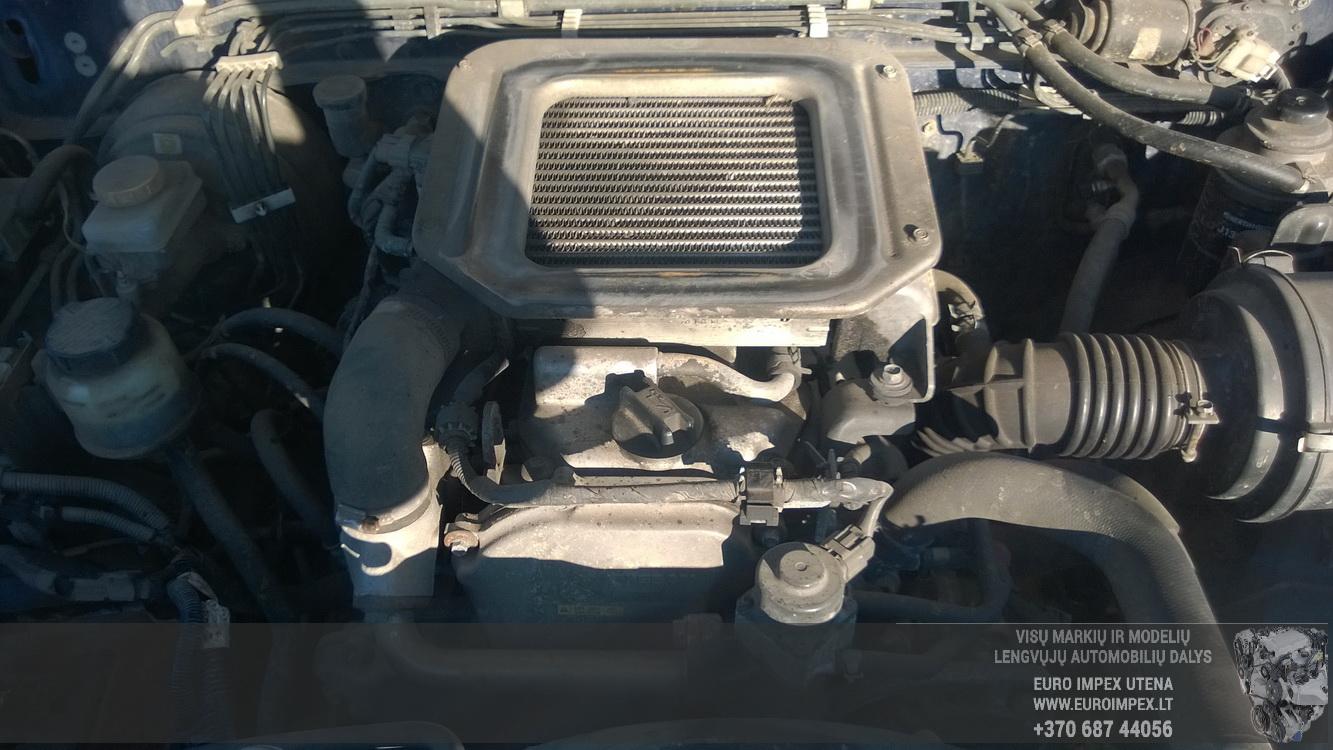 Naudotos automobiliu dallys Foto 5 Nissan NAVARA 2004 2.5 Mechaninė Visureigis 4/5 d. Melyna 2015-11-02 A2434