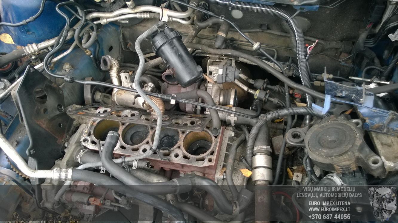 Naudotos automobiliu dallys Foto 8 Ford FOCUS 2007 1.8 Mechaninė Universalas 4/5 d. Melyna 2015-11-05 A2440