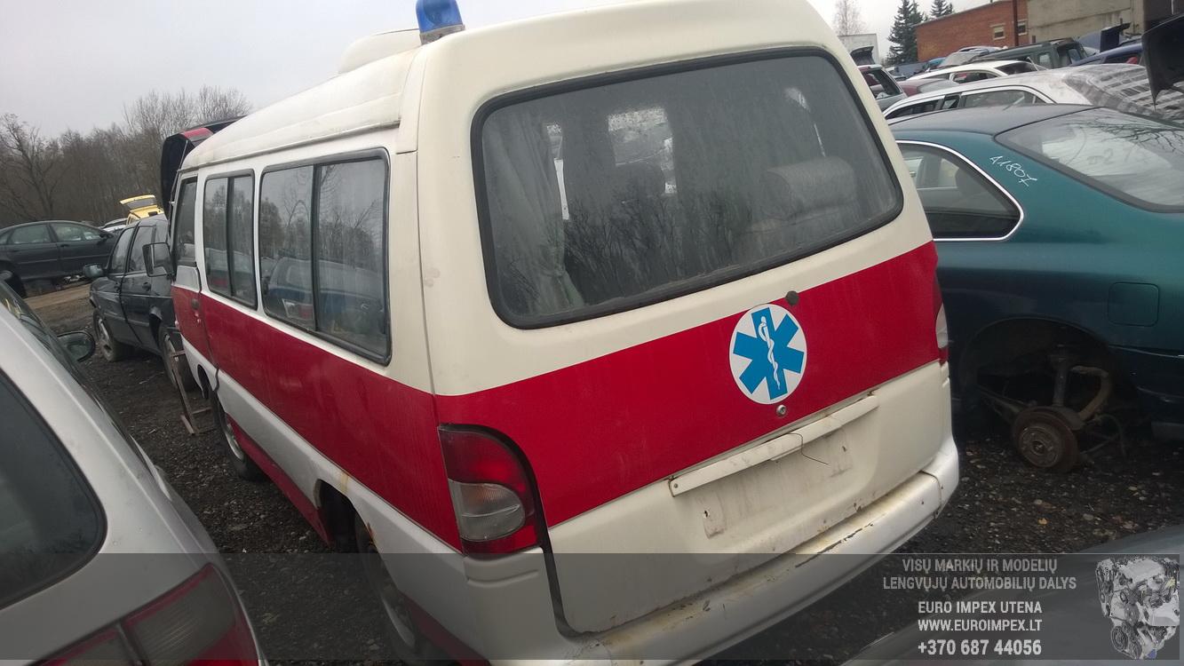 Naudotos automobilio dalys Hyundai H100 1995 2.4 Mechaninė Vienatūris 4/5 d. Balta 2015-11-05