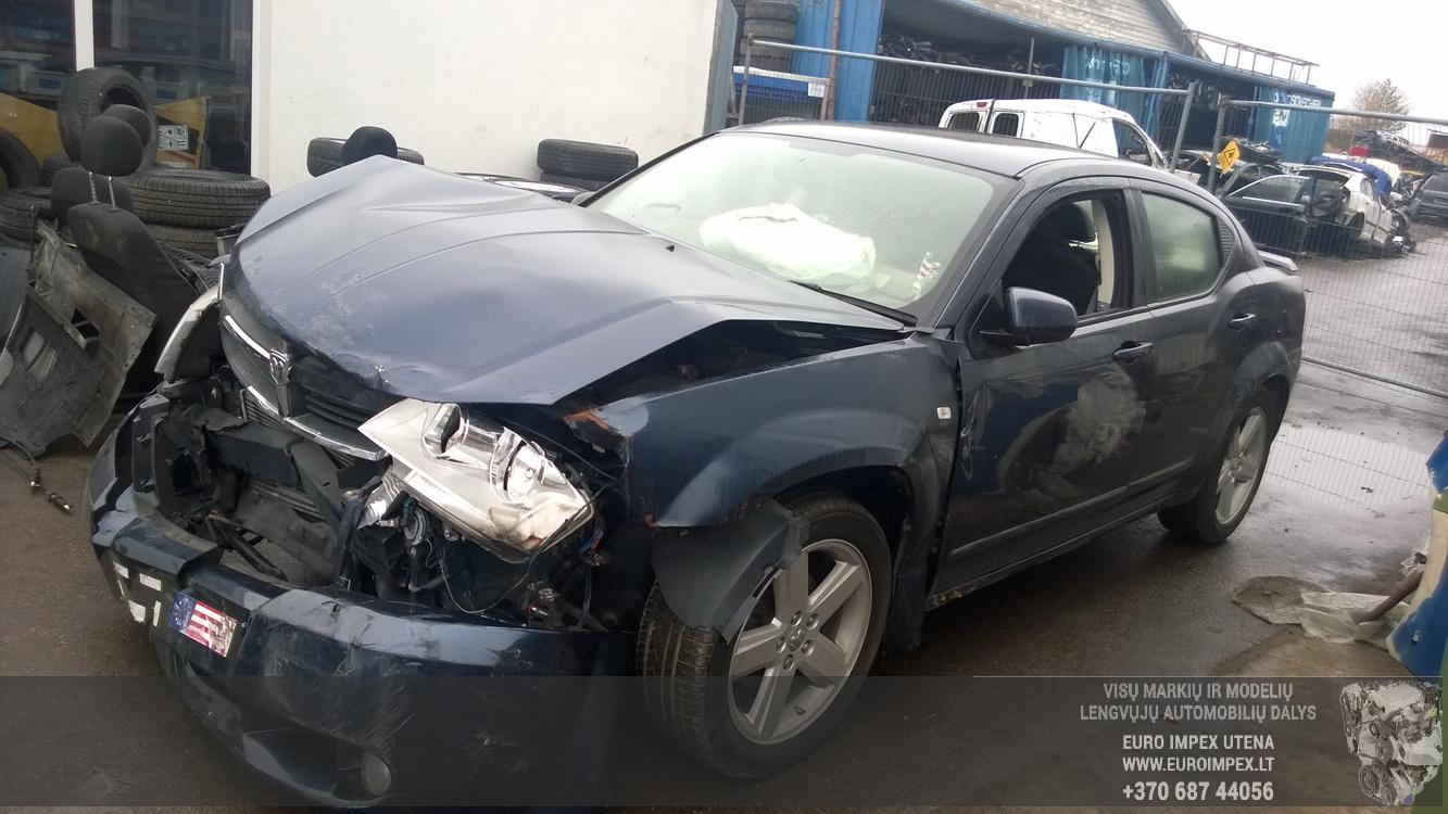 Naudotos automobilio dalys Dodge AVENGER 2008 2.0 Mechaninė Sedanas 4/5 d. Melyna 2015-11-05