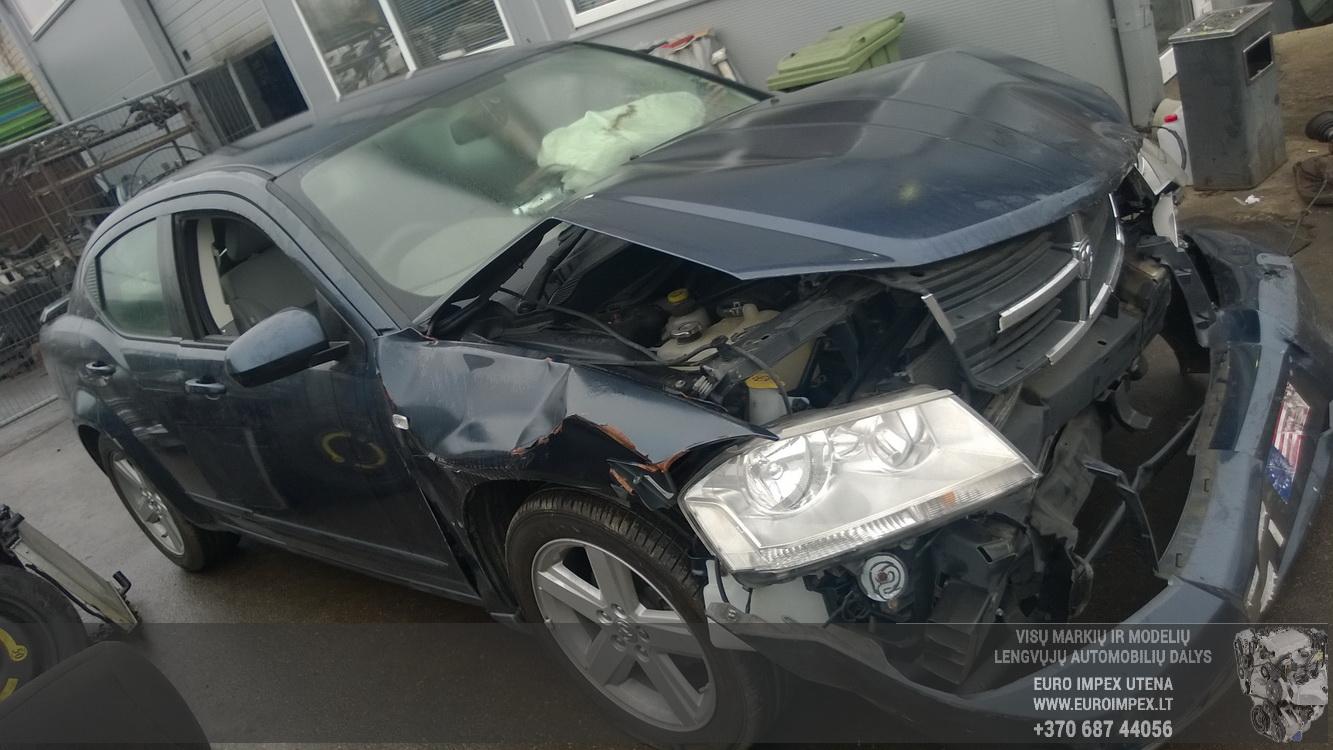 Naudotos automobiliu dallys Foto 3 Dodge AVENGER 2008 2.0 Mechaninė Sedanas 4/5 d. Melyna 2015-11-05 A2441