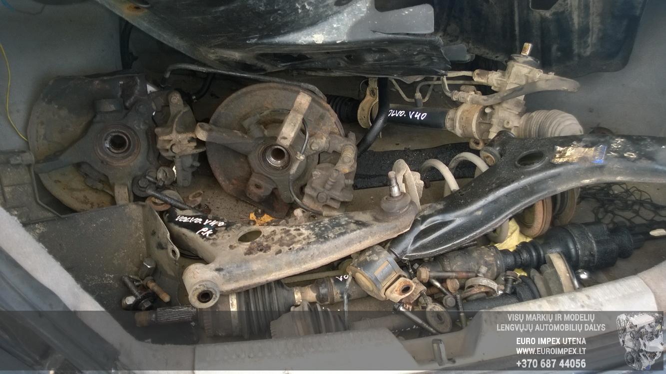Naudotos automobilio dalys Volvo S40 1998 1.9 Mechaninė Sedanas 4/5 d. Juoda 2015-11-11