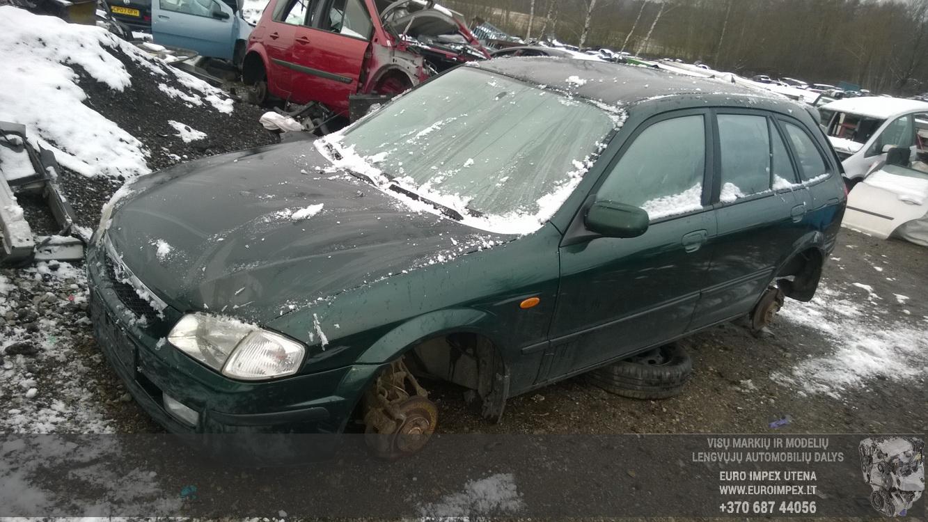 Mazda 323F 2000 1.8 Mechaninė