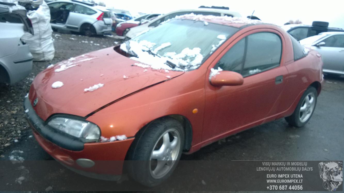 A2457 Opel TIGRA 1995 1.6 Mechaninė Benzinas
