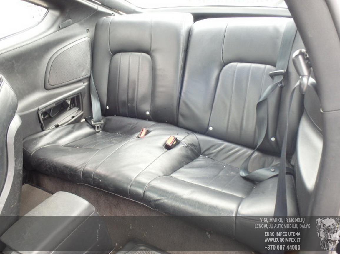 Naudotos automobilio dalys Hyundai COUPE 2004 2.0 Mechaninė Kupė 2/3 d. Juoda 2015-12-03