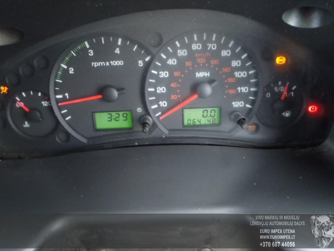 Naudotos automobilio dalys Ford TRANSIT 2004 2.0 Mechaninė Krovininis mikroautobusas 2/3 d. Balta 2015-12-03