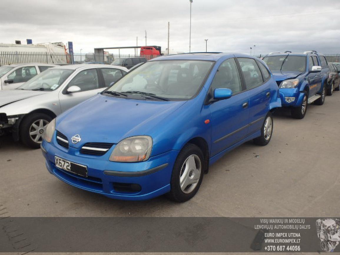 Nissan ALMERA TINO 2000 1.8 Mechaninė