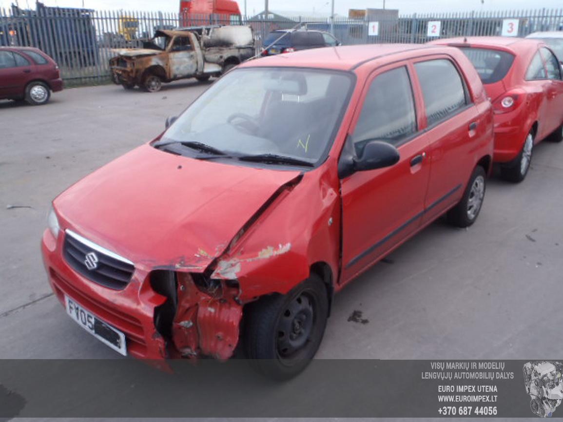 Naudotos automobilio dalys Suzuki ALTO 2005 1.1 Mechaninė Hečbekas 4/5 d. Raudona 2015-12-03