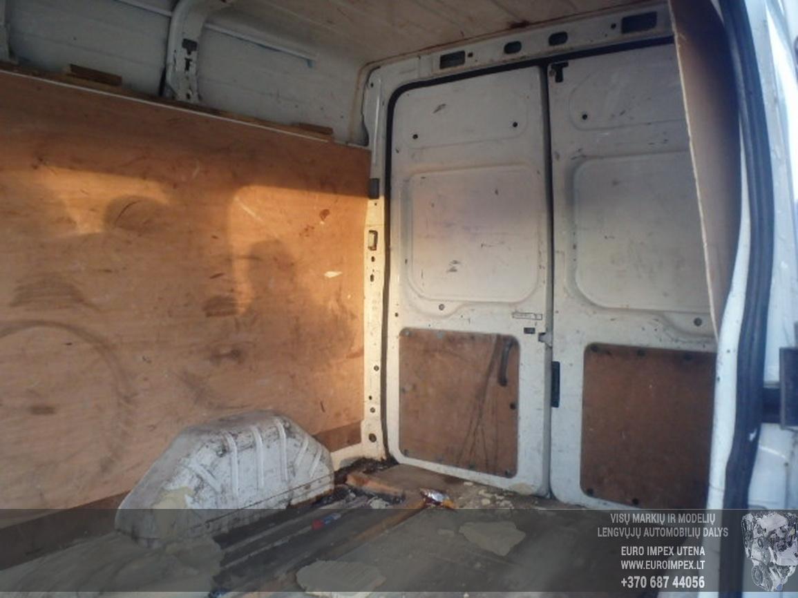 Naudotos automobilio dalys Ford TRANSIT 2003 2.0 Mechaninė Krovininis mikroautobusas 2/3 d. Balta 2015-12-11