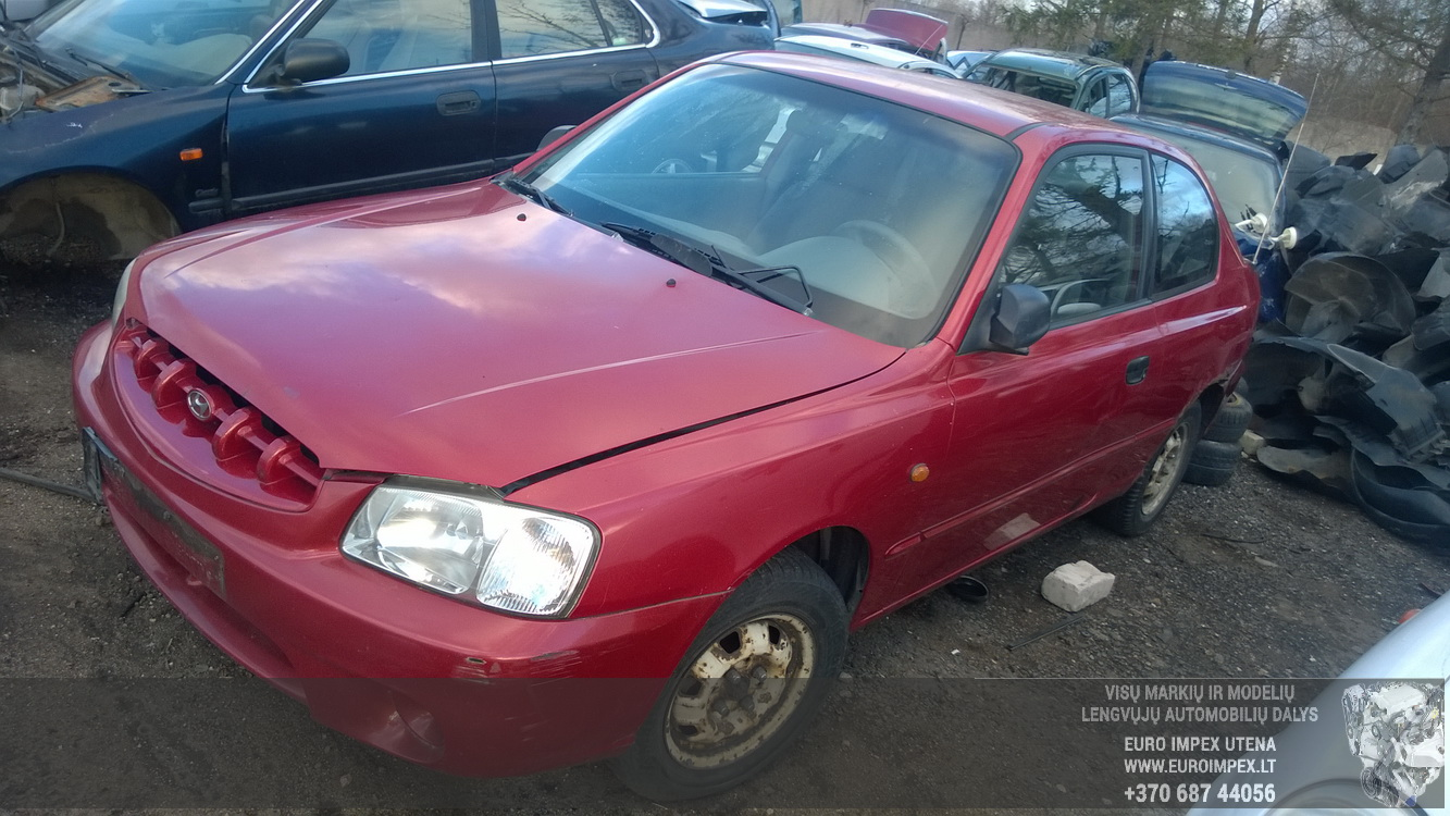 Hyundai ACCENT 2001 1.3 Mechaninė