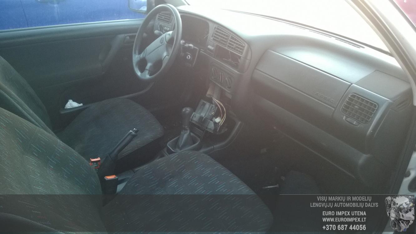 Naudotos automobiliu dallys Foto 5 Volkswagen GOLF 1994 1.6 Mechaninė Hečbekas 2/3 d. Balta 2015-12-09 A2490