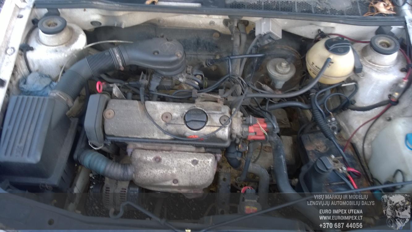 Naudotos automobiliu dallys Foto 7 Volkswagen GOLF 1994 1.6 Mechaninė Hečbekas 2/3 d. Balta 2015-12-09 A2490