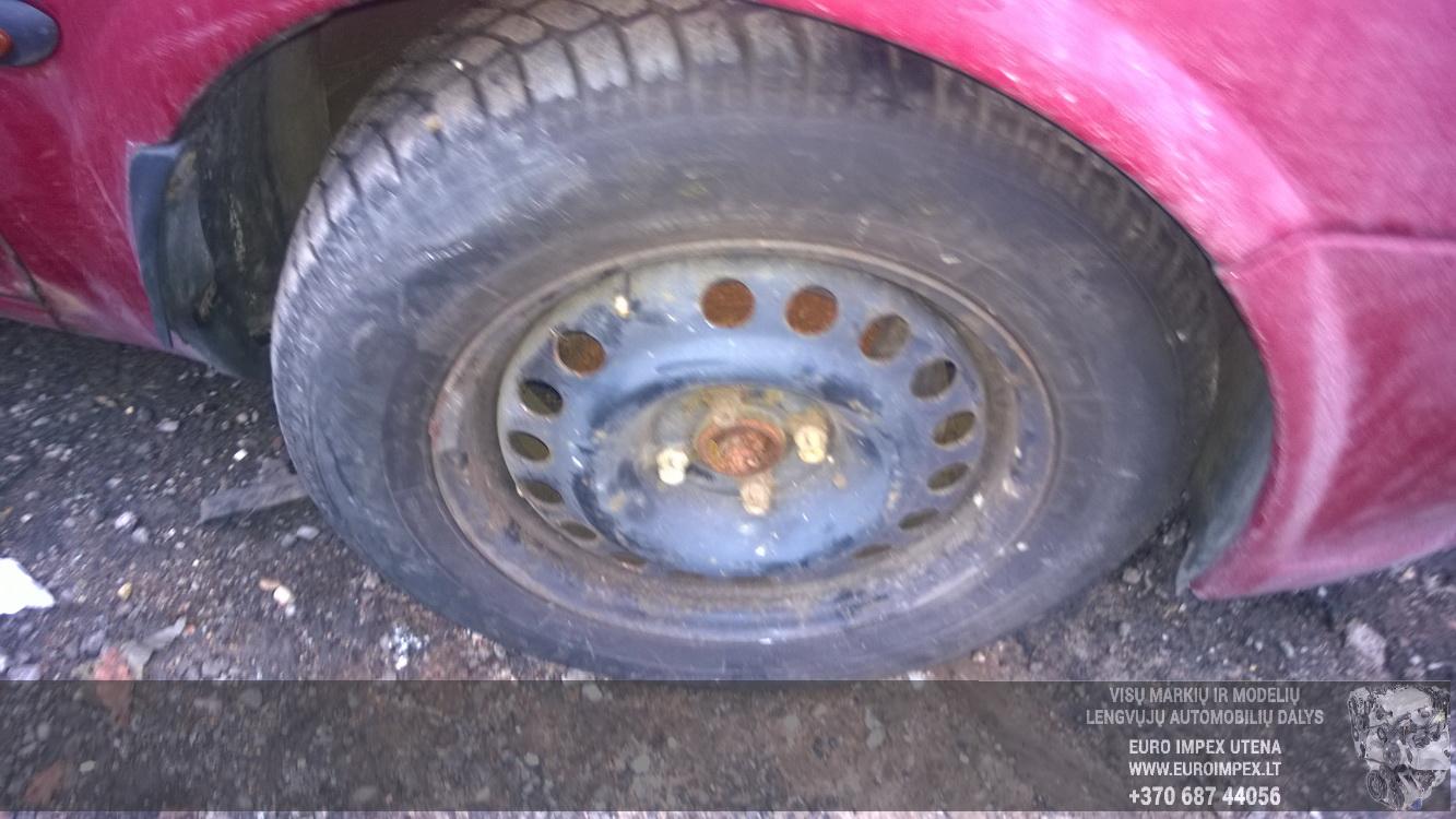 Naudotos automobiliu dallys Foto 4 Opel VECTRA 1997 1.6 Mechaninė Sedanas 4/5 d. Raudona 2015-12-11 A2503