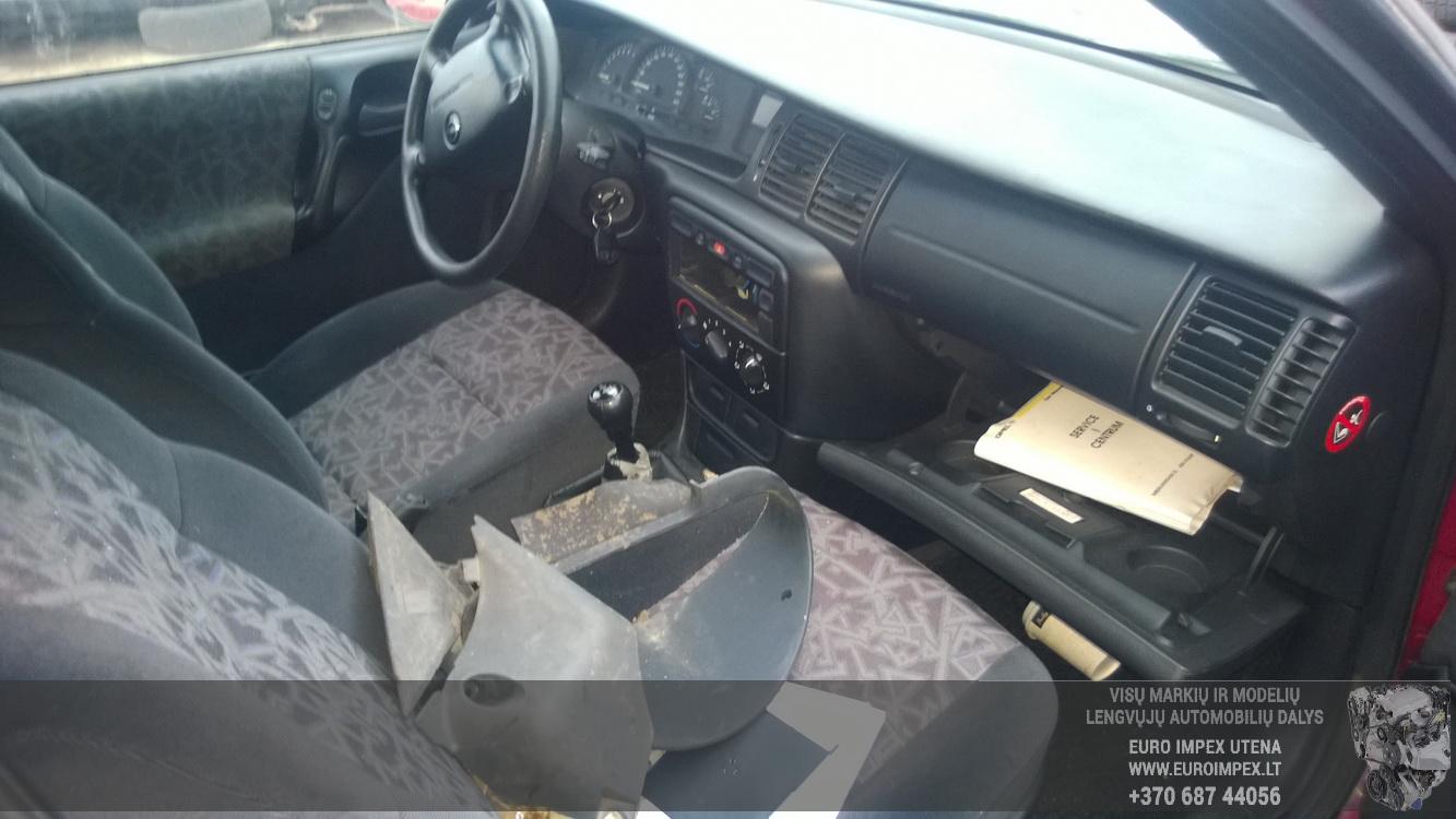Naudotos automobiliu dallys Foto 5 Opel VECTRA 1997 1.6 Mechaninė Sedanas 4/5 d. Raudona 2015-12-11 A2503