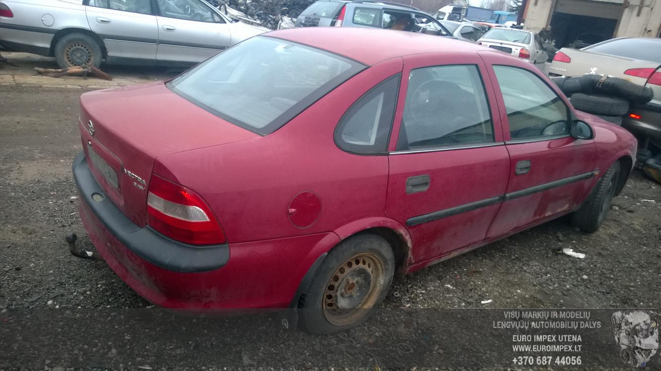 Naudotos automobiliu dallys Foto 6 Opel VECTRA 1997 1.6 Mechaninė Sedanas 4/5 d. Raudona 2015-12-11 A2503