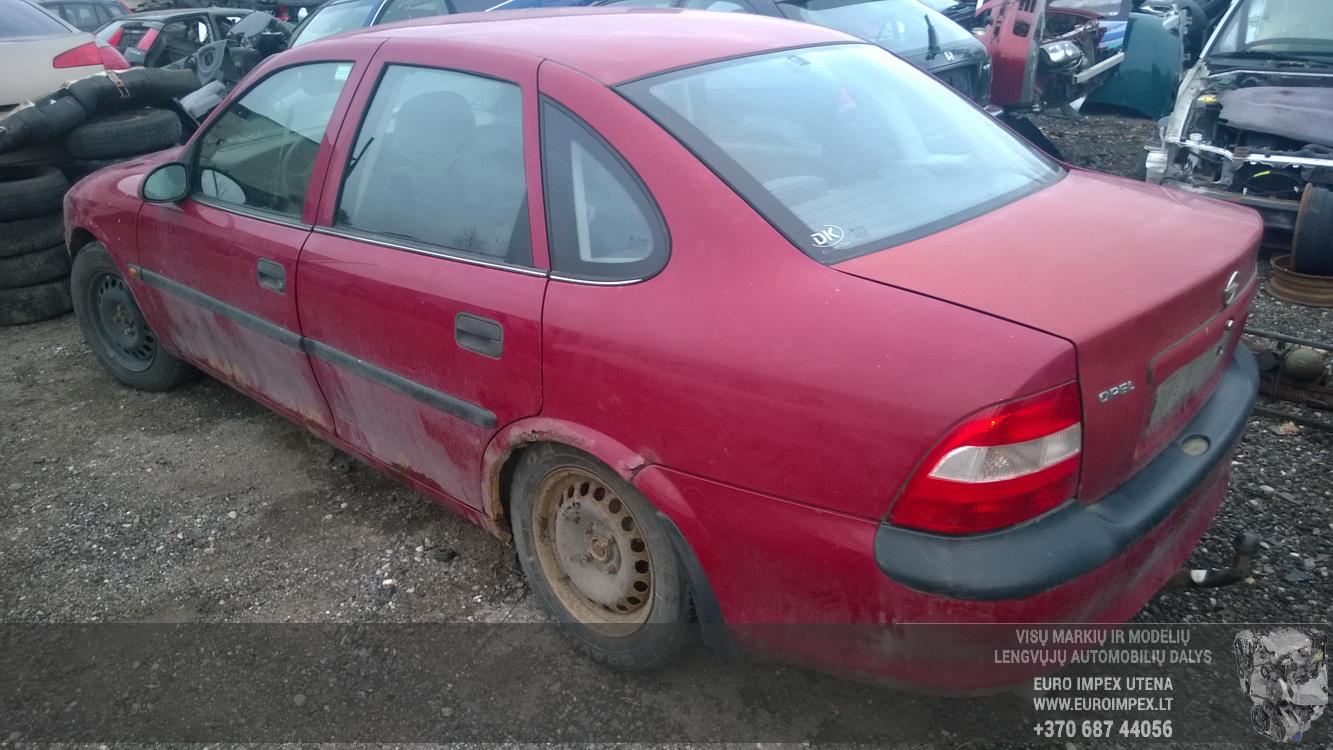 Naudotos automobiliu dallys Foto 7 Opel VECTRA 1997 1.6 Mechaninė Sedanas 4/5 d. Raudona 2015-12-11 A2503