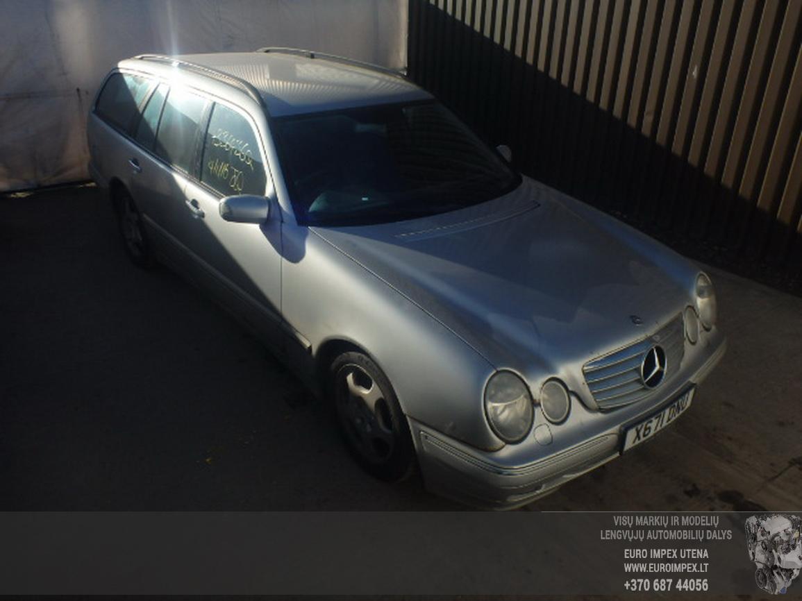 Naudotos automobiliu dallys Foto 4 Mercedes-Benz E-CLASS 2001 3.2 Automatinė Universalas 4/5 d. Pilka 2016-2-15 A2595
