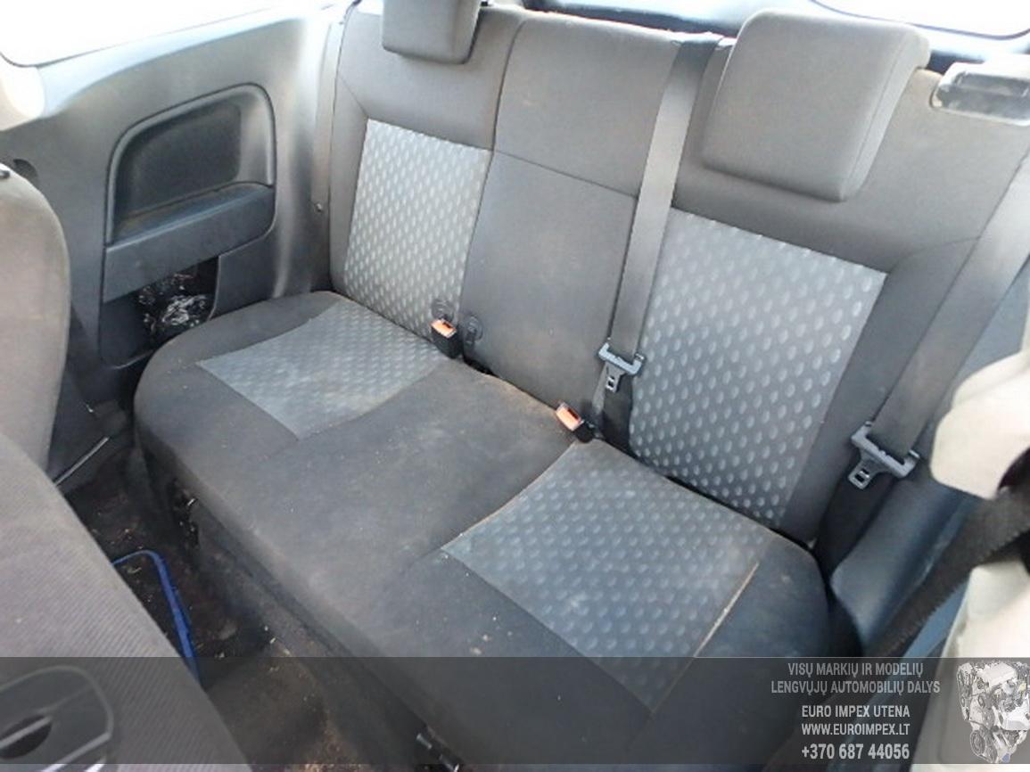 Naudotos automobilio dalys Ford FIESTA 2004 1.4 Mechaninė Hečbekas 2/3 d. Zalia 2016-3-01