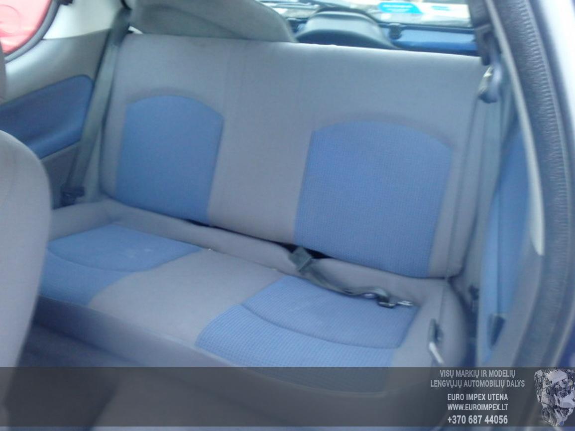 Naudotos automobiliu dallys Foto 6 Peugeot 206 2002 1.1 Mechaninė Hečbekas 2/3 d. Violetine 2016-2-15 A2598