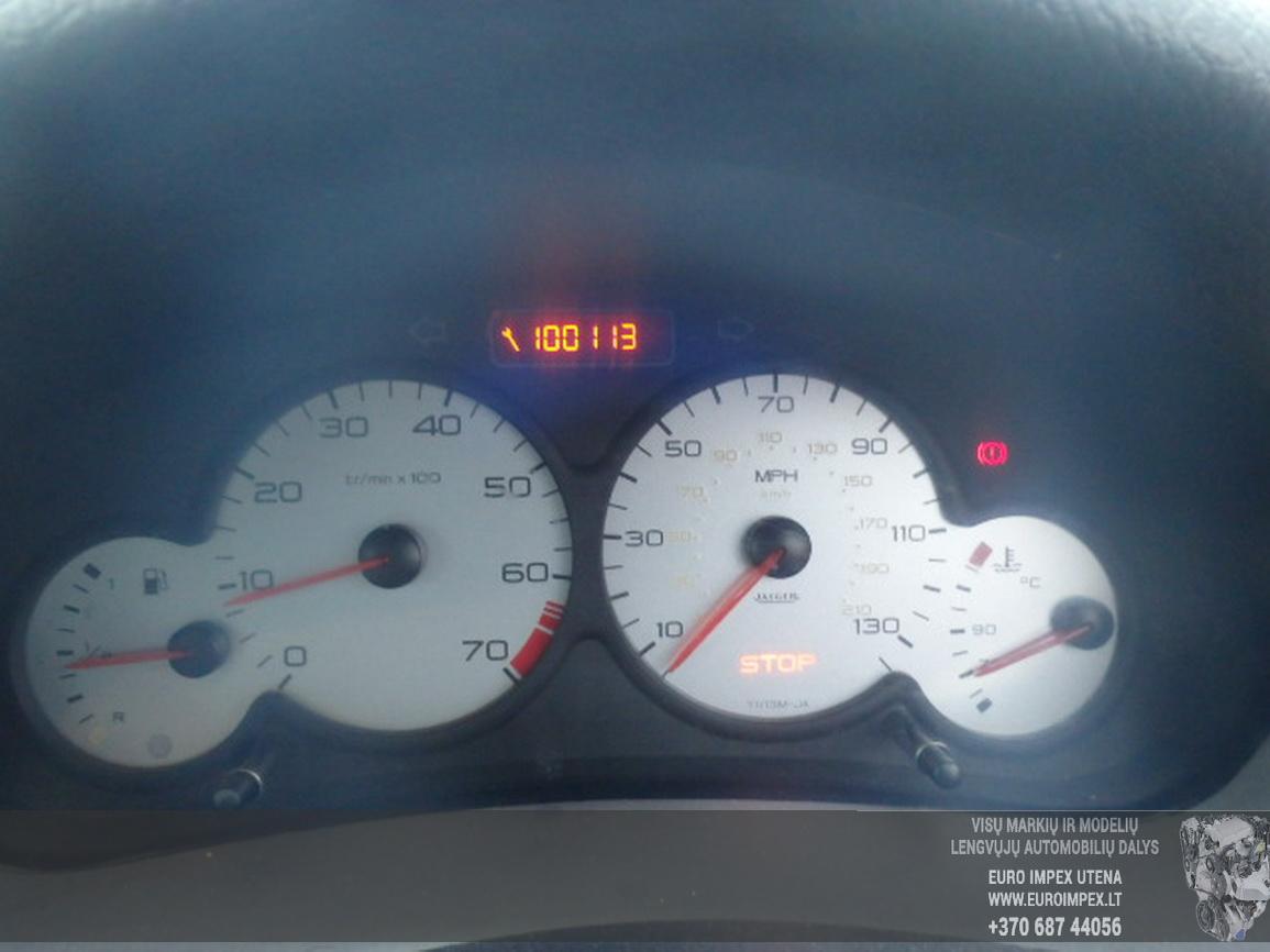 Naudotos automobiliu dallys Foto 8 Peugeot 206 2002 1.1 Mechaninė Hečbekas 2/3 d. Violetine 2016-2-15 A2598