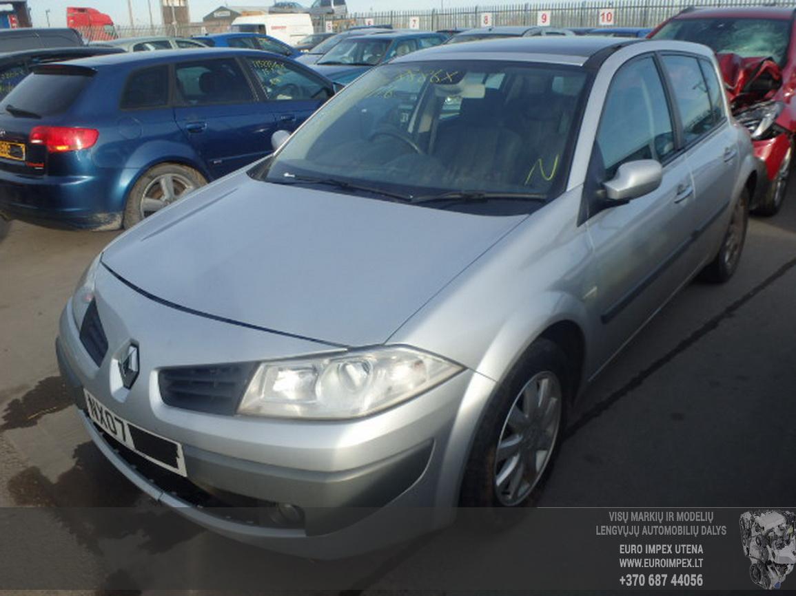 Renault MEGANE 2007 1.5 Mechaninė