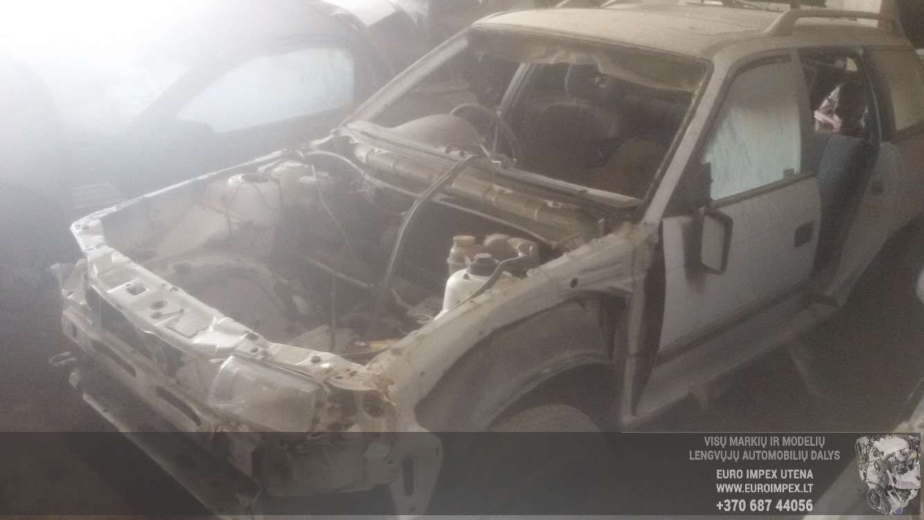 Naudotos automobilio dalys Opel ASTRA 1993 1.7 Mechaninė Universalas 4/5 d. Balta 2016-5-09