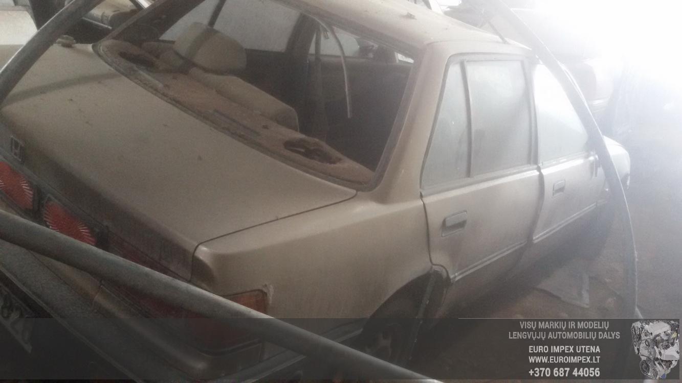 Naudotos automobilio dalys Honda CIVIC 1987 1.6 Mechaninė Sedanas 4/5 d. Pilka 2016-5-09