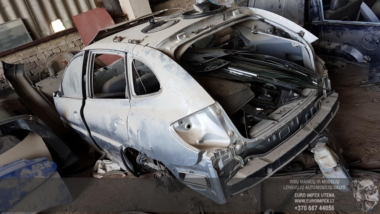 Naudotos automobilio dalys Kia RIO 2001 1.3 Mechaninė Hečbekas 4/5 d. Pilka 2016-5-16