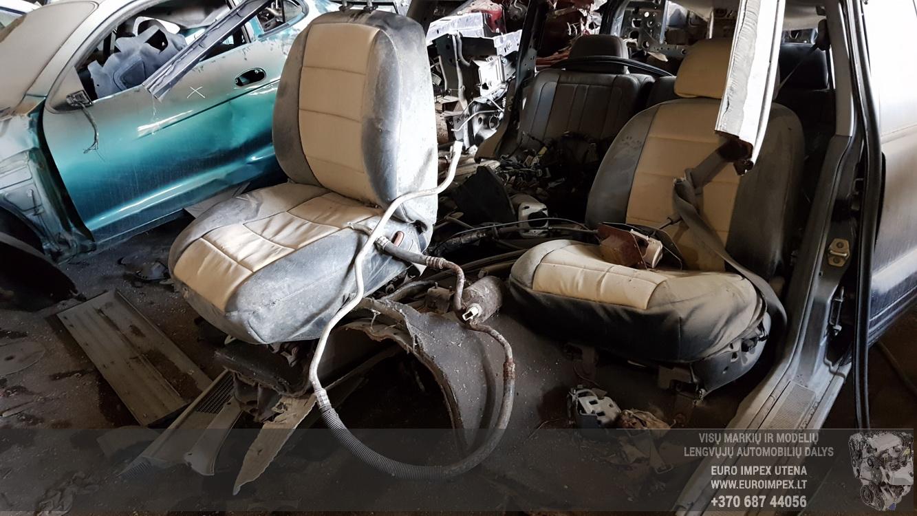 Naudotos automobiliu dallys Foto 2 Jeep GRAND CHEROKEE 1996 5.2 Automatinė Visureigis 4/5 d. Melyna 2016-5-16 A2786