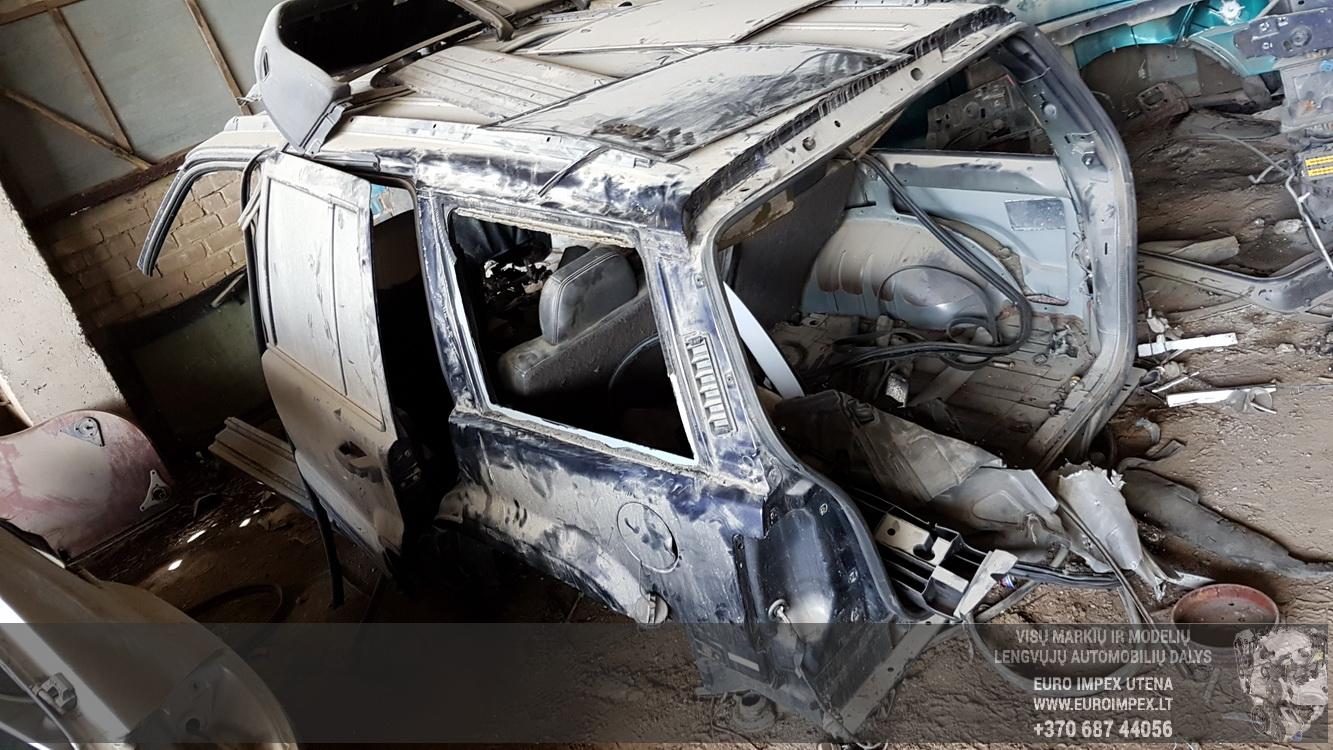 Naudotos automobilio dalys Jeep GRAND CHEROKEE 1996 5.2 Automatinė Visureigis 4/5 d. Melyna 2016-5-16