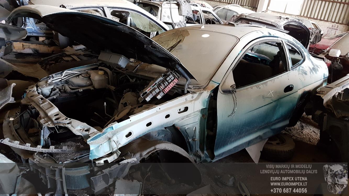 Naudotos automobilio dalys Ford PUMA 2000 1.8 Mechaninė Hečbekas 2/3 d. Zalia 2016-5-16