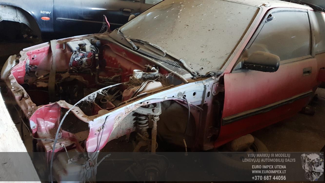 Naudotos automobilio dalys Honda CIVIC 1989 1.5 Automatinė Hečbekas 2/3 d. Raudona 2016-5-23