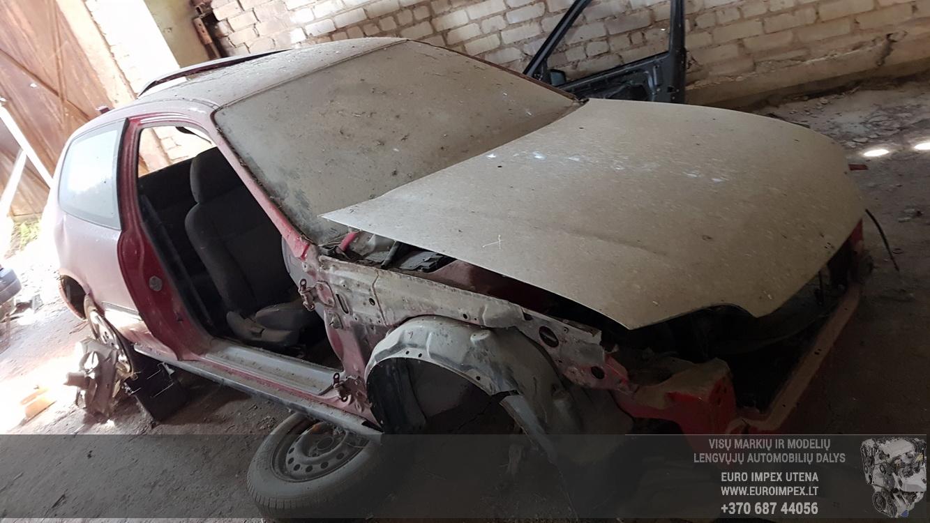 Naudotos automobilio dalys Honda CIVIC 1994 1.5 Mechaninė Hečbekas 2/3 d. Raudona 2016-5-25