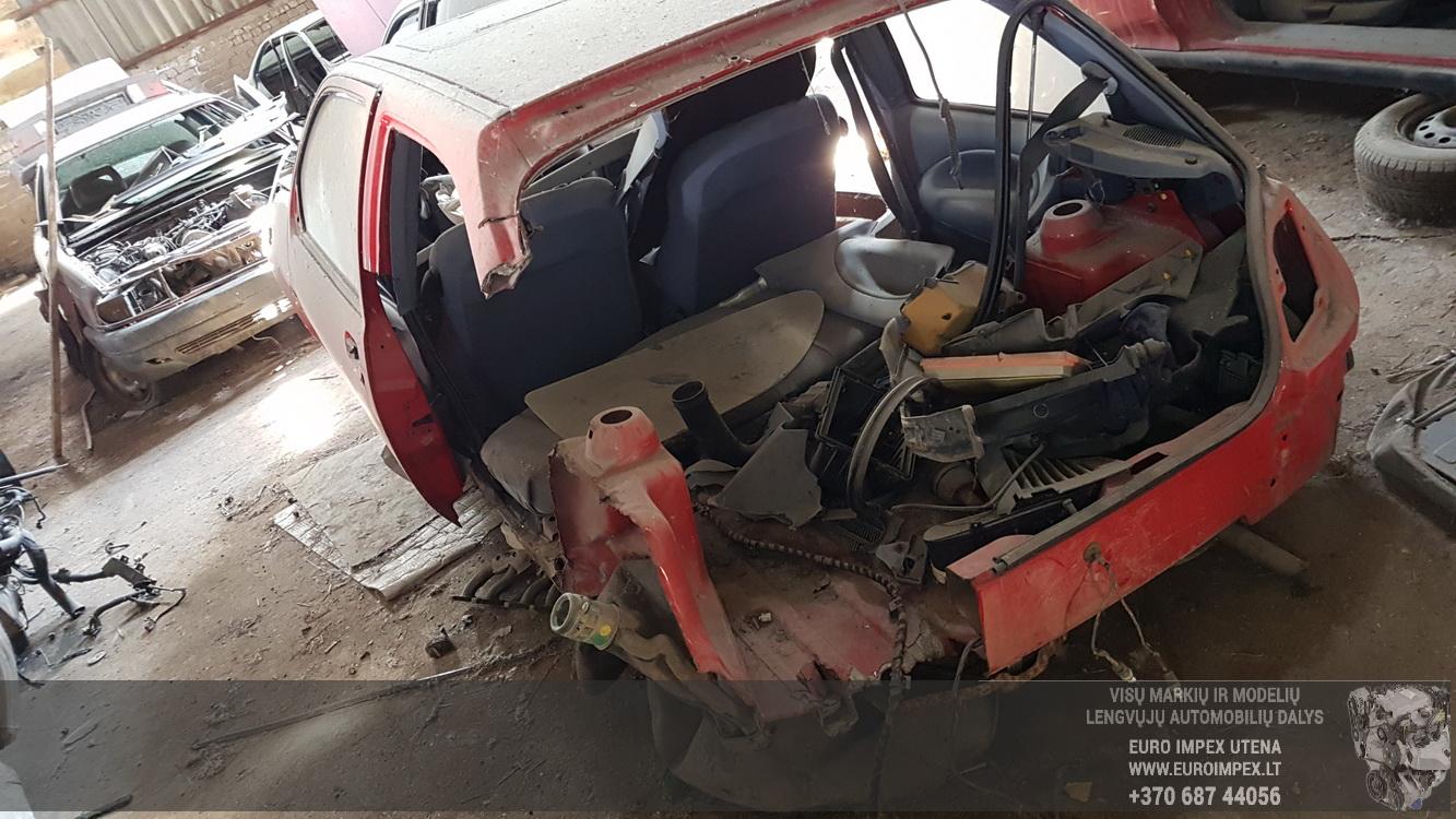 Naudotos automobilio dalys Ford FIESTA 1991 1.3 Mechaninė Hečbekas 2/3 d. Raudona 2016-5-25