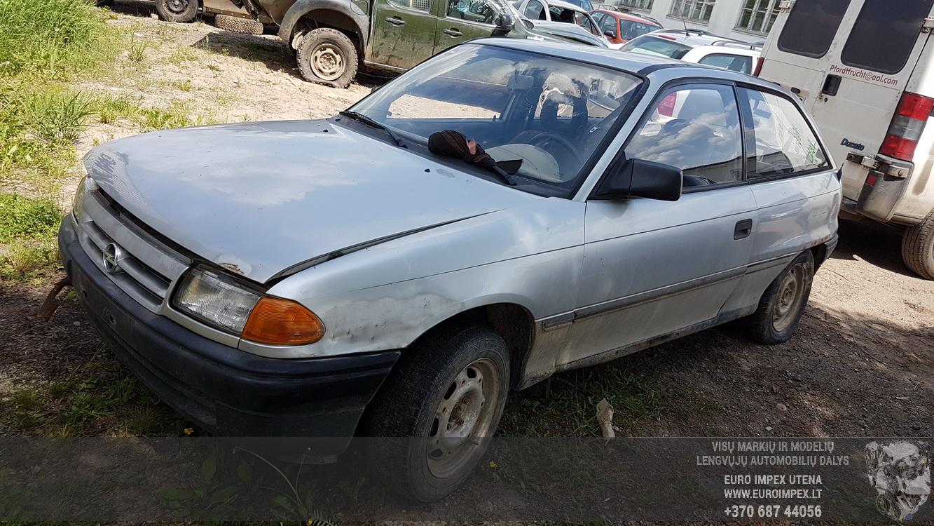 Opel ASTRA 1992 1.7 Mechaninė